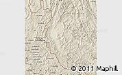 Shaded Relief Map of Dien Bien