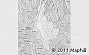 Silver Style Map of Dien Bien