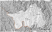 Gray 3D Map of Muong Lay