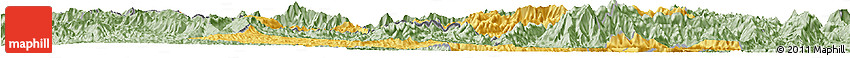 Savanna Style Horizon Map of Muong Lay