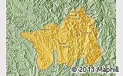 Savanna Style Map of Muong Lay