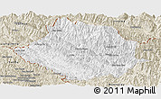 Classic Style Panoramic Map of Muong Te