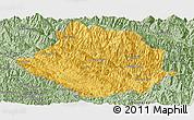 Savanna Style Panoramic Map of Muong Te
