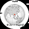 Outline Map of Lai Chau