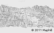 Silver Style Panoramic Map of Sin Ho