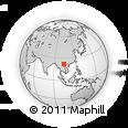 Outline Map of Tua Chua