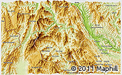 Physical 3D Map of Tuan Giao