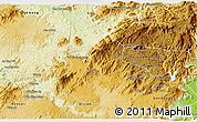 Physical 3D Map of Lam Ha