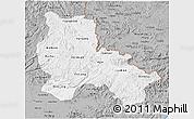 Gray 3D Map of Lang Son