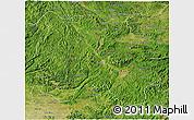 Satellite 3D Map of Lang Son
