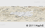 Classic Style Panoramic Map of Chi Lang