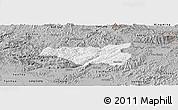 Gray Panoramic Map of Chi Lang