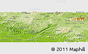Physical Panoramic Map of Chi Lang