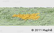 Savanna Style Panoramic Map of Chi Lang