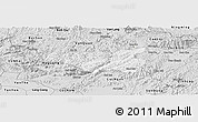 Silver Style Panoramic Map of Chi Lang