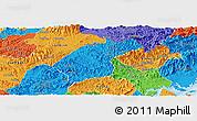 Political Panoramic Map of Dinh Lap