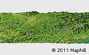 Satellite Panoramic Map of Dinh Lap