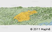 Savanna Style Panoramic Map of Dinh Lap