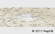 Classic Style Panoramic Map of Huu Lung