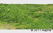 Satellite Panoramic Map of Lang Son