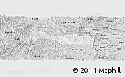 Silver Style Panoramic Map of Trang Dinh