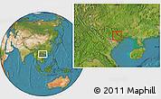 Satellite Location Map of Tx.Lang Son