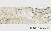 Classic Style Panoramic Map of Van Lang