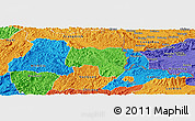 Political Panoramic Map of Van Lang