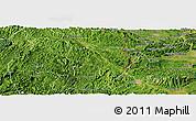 Satellite Panoramic Map of Van Lang