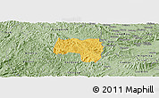 Savanna Style Panoramic Map of Van Lang
