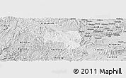 Silver Style Panoramic Map of Van Lang