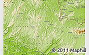 Physical Map of Van Quan