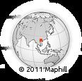 Outline Map of Van Quan