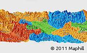 Political Panoramic Map of Bao Thang