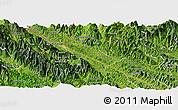 Satellite Panoramic Map of Bao Thang