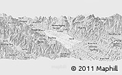 Silver Style Panoramic Map of Bao Thang