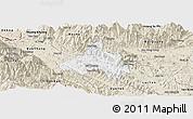 Classic Style Panoramic Map of Bao Yen
