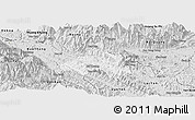 Silver Style Panoramic Map of Bao Yen