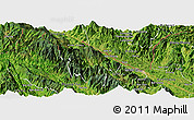 Satellite Panoramic Map of Bat Xat