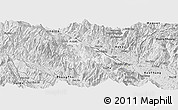 Silver Style Panoramic Map of Bat Xat