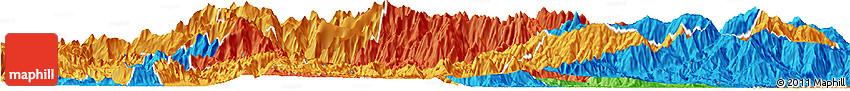 Political Horizon Map of Sa Pa