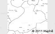 Blank Simple Map of Sa Pa