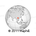 Outline Map of Than Uyen