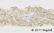 Classic Style Panoramic Map of Than Uyen