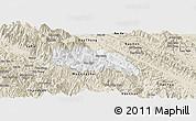 Classic Style Panoramic Map of Van Ban