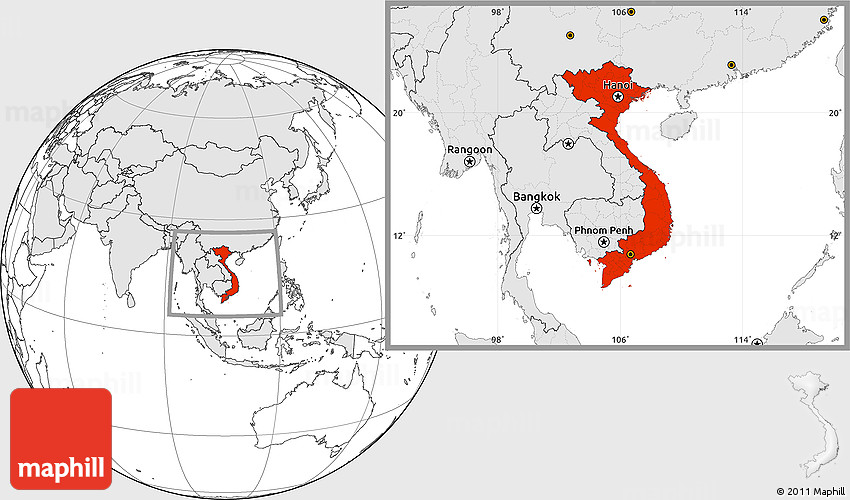 Blank location map of vietnam highlighted continent gumiabroncs Gallery