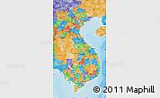 Political Map of Vietnam
