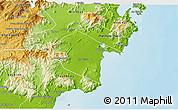 Physical 3D Map of Ninh Phuoc