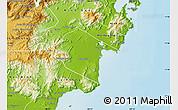 Physical Map of Ninh Phuoc