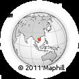 Outline Map of Da Nang Town